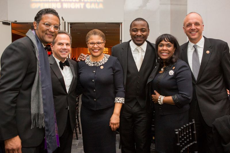 Frank Ahimaz, Rep. David Cicilline, Rep. Karen Bass, Robert Battle, Rep. Terri Sewell, and Rep. Ted Deutch