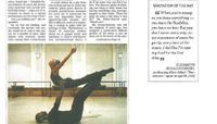 The New York Times - With Willing Spirit, A Reprise For Ailey Dancers