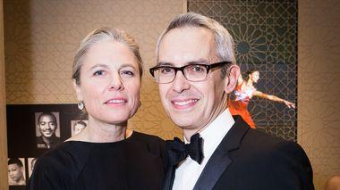 Leslie L. Maheras and Bennett Rink