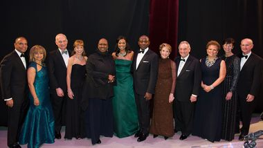 Gala Chairs with Actress and Honorary Chair Gabrielle Union and Artistic Director Robert Battle