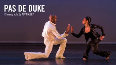 Alvin Ailey's Pas de Duke