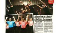 NY Daily News - Ailey Dancers Teach City Kids The Moves