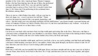 Women's Health - Get Legs Like A Dancer - In 6 Moves