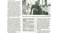 The Star-Ledger - Home-Stage Advantage For Ailey