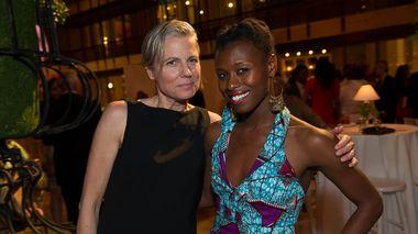 Leslie Maheras and Rachael McLaren