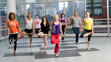 Power Ashtanga Yoga at the Ailey Extension. Photo by Kyle Froman