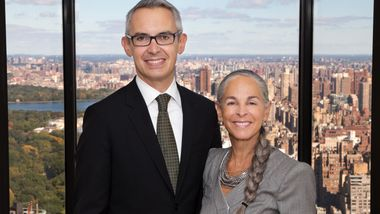 Bennett Rink and Sharon Gersten Luckman