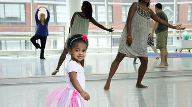Tiny Steps at the Ailey Extension
