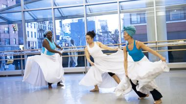 Afro-Cuban Class at the Ailey Extension. Photo by Kyle Froman 1