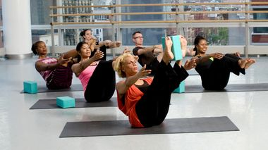 Pilates class at the Ailey Extension