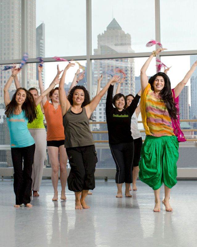 Masala Bhangra class at Ailey Extension