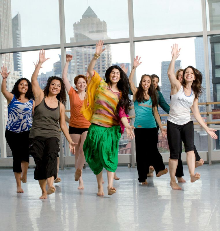 Masala Bhangra class at Ailey Extension