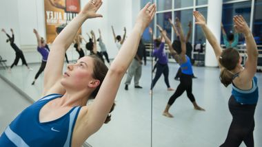 Horton class at Ailey Extension