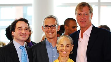 Bennett Rink, Sharon Gersten Luckman and John Schaefer