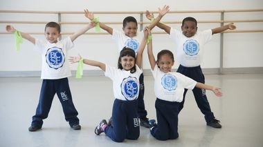 Bronx Charter School for Excellence Kindergarten Creative Movement Class