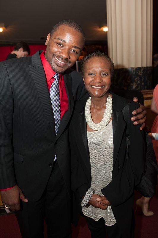 Robert Battle and Sylvia Waters