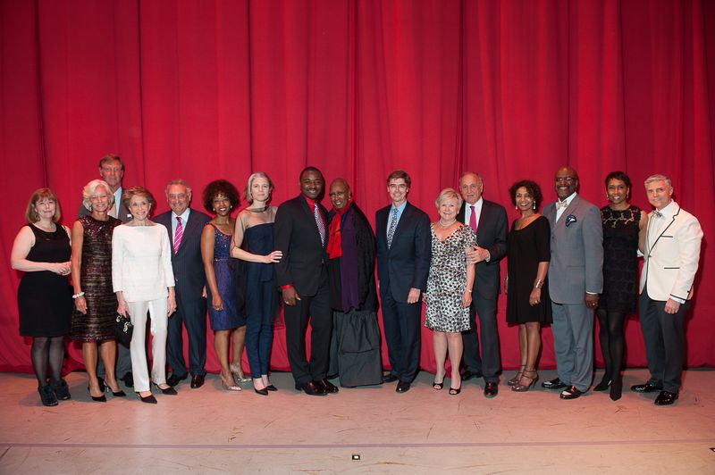 Gala Co-Chairs Vice Chairs with Joan and Sandy Weill, Robert Battle and Judith Jamison