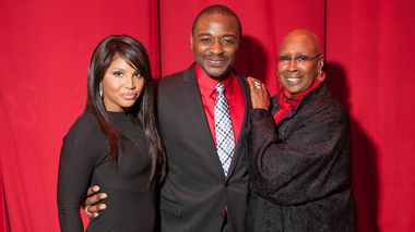 Toni Braxton, Robert Battle and Judith Jamison