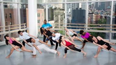 Horton Class at the Ailey Extension. Photo by Kyle Froman 9