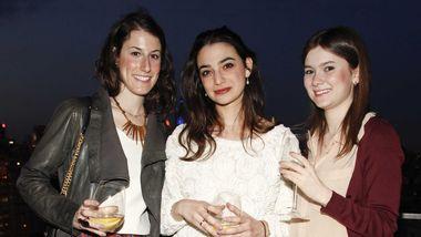 Guest, Adriel Saporta and Alessandra Gotbaum