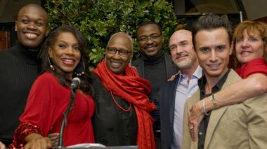 Sheryl Lee Ralph, Judith Jamison and Robert Battle at the world premiere of Home