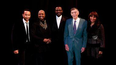 John Legend, Judith Jamison, Robert Battle, Paul Taylor and Kimberly B. Davis