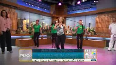 PIX 11 TV - Wake-up Workout: Samba Slimdown