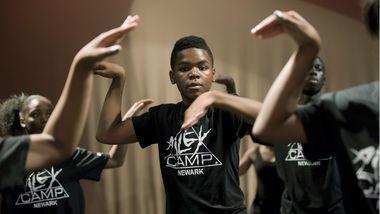 AileyCamp Newark Jazz Class