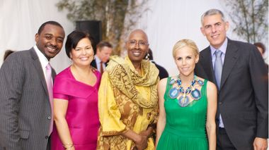 Robert Battle, Debra Lee, Judith Jamison, Tory Burch and Lyor Cohen