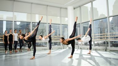 Students from The Ailey School's Professional Division