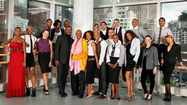 Judith Jamison and Robert Battle with Alvin Ailey American Dance Theater