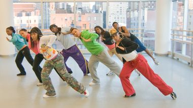 Hip-Hop class at The Ailey Extension