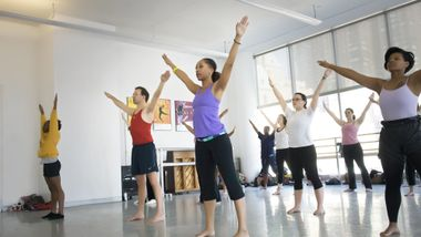 Horton class at The Ailey Extension