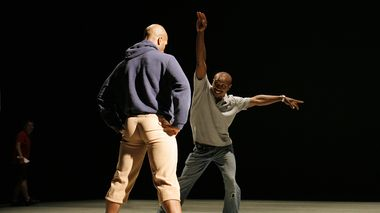 Alvin Ailey American Dance Theater Rehearsal