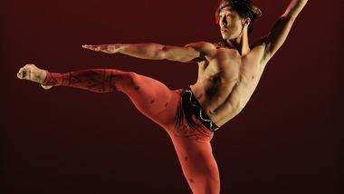 Chang Yong Sung in Alvin Ailey's Hidden Rites