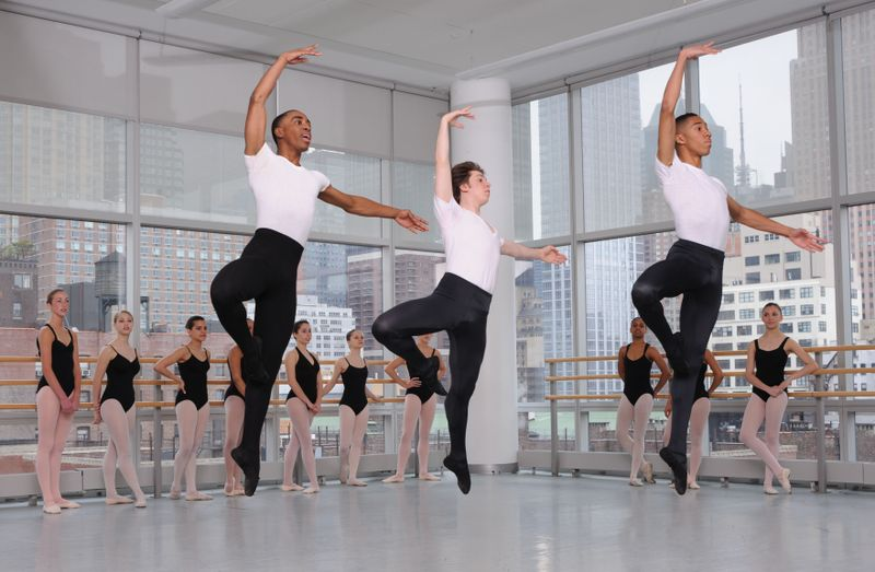 The Ailey School Junior Division Students in Ballet Class