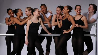 The Ailey School Junior Division Students
