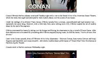 Rolling Stone - Watch Conan O'Brien Master Modern Dance at Alvin Ailey Theater