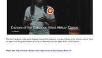The Root - Dances of the Diaspora: West African Dance