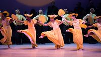AAADT in Alvin Ailey's Revelations. Photo by Christopher Duggan