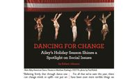 Playbill - Dancing For Change