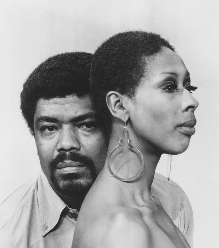 Please Credit Photo: Alvin Ailey and Judith Jamison (1969). Photo by Jack Mitchell. (©) Alvin Ailey Dance Foundation, Inc. and Smithsonian Institution.