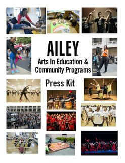 Ailey Arts in Education Press Kit