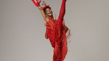 Constance Stamatiou in Alvin Ailey's Blues Suite