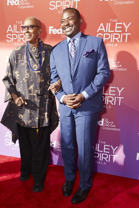 Alvin Ailey American Dance Theater Artistic Director Emerita Judith Jamison and Artistic Director Robert Battle