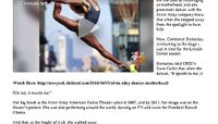 CBS New York - Alvin Ailey Theater Star Returns To Dance After Stepping Away For Motherhood