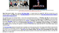 Ailey Celebrates NYC Dance Week June 16th – 25th with FREE Class Offers at the Ailey Extension, Featuring the June 18th Launch of Brazilian Fitness Technique GingaFlex