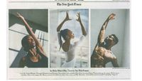 The New York Times - A Season Of Returning, Ascending And Dreaming At Ailey