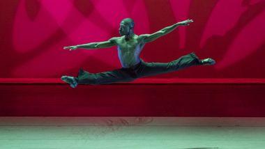 Chalvar Monteiro in Alvin Ailey's Revelations