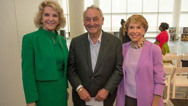 Elaine Wynn, Sandy and Joan Weill